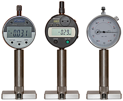 Digital & Analog Depth Gauges