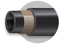 All rubber air conditioning hose