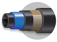 Barrier-type air conditioning hose
