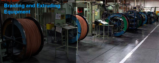 Rubber Hose Braiding and Extrusion